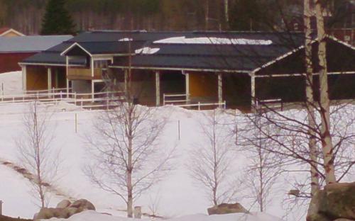 Stallet i vinterskrud